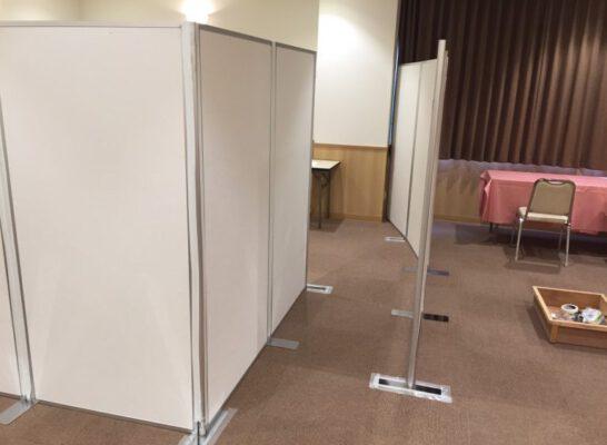 ヴァンテアンパネルを使用した試着室